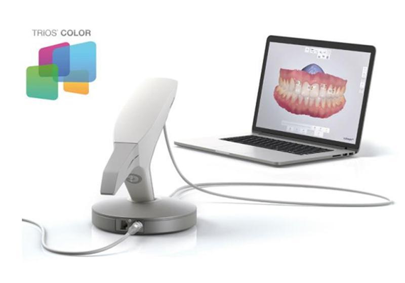 зубной ряд и сканер