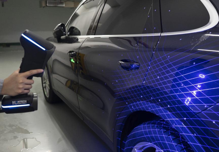 сканирование машины