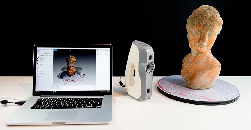 3D сканер Artec Eva программное обеспечение