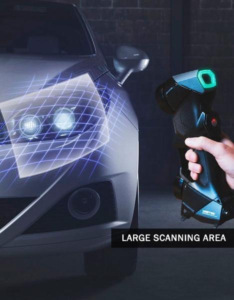 замер фары сканером