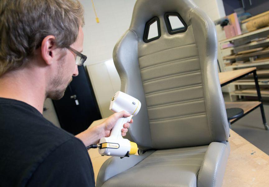 сканирование кресла