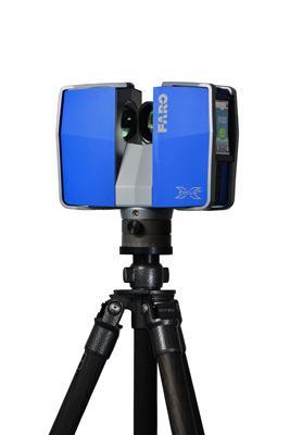 сканер синий