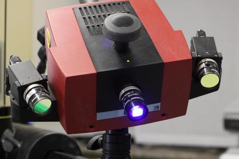 сканер для 3D красный