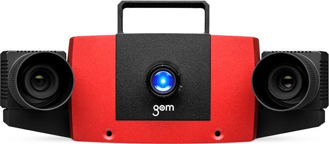сканер красный