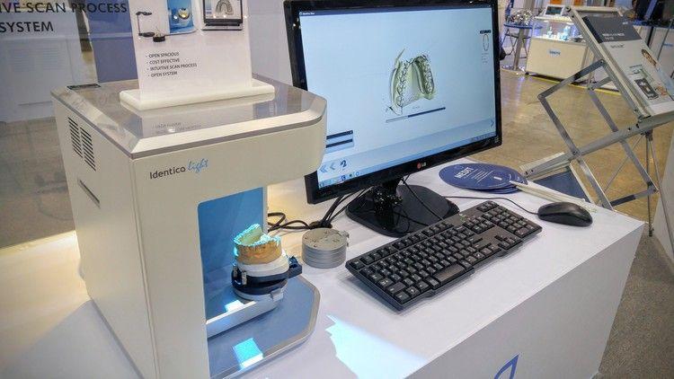 ноутбук и сканер