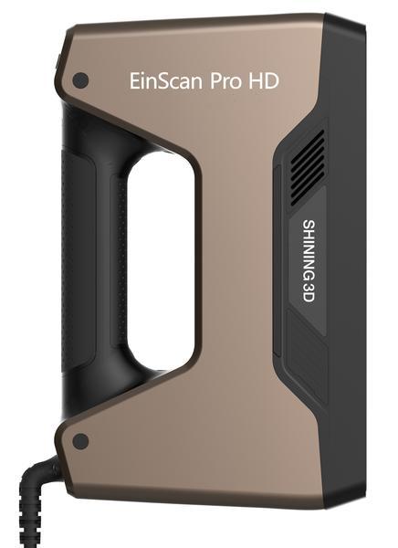 Shining Einscan Pro HD с Solid Edge