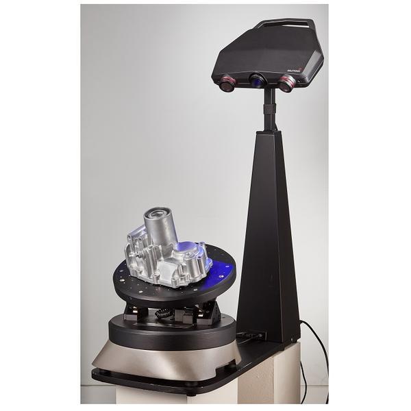 сканирование 3D сканером Solutionix C500