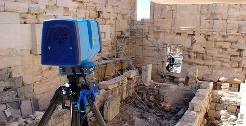 сканер в работе