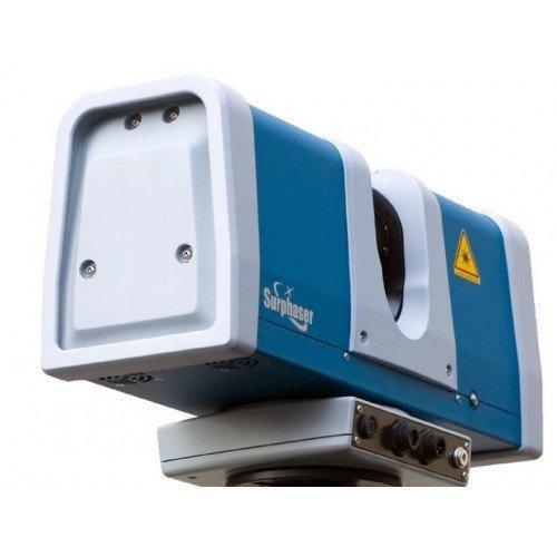сканер синего цвета стационарный