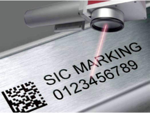 маркировка изделий луч лазера