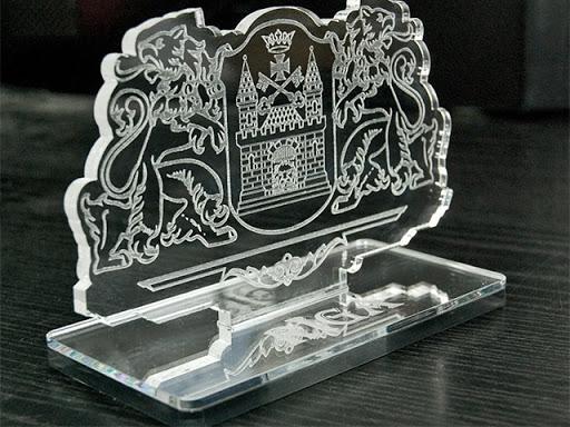 стеклянный сувенир