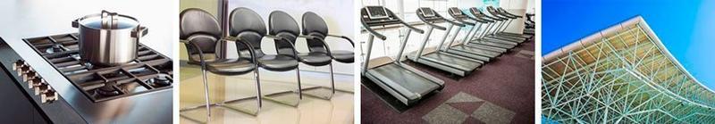 кастрюля, стул, тренажер, конструкция