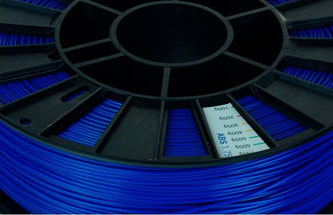ABS пластик 1,75 REC синий 0,75 кг особенности