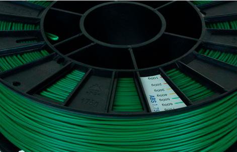 ABS пластик 1,75 REC зеленый 0,75 кг особености