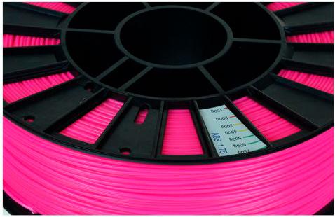 ABS пластик 1,75 REC ярко-розовый 0,75 кг особенности