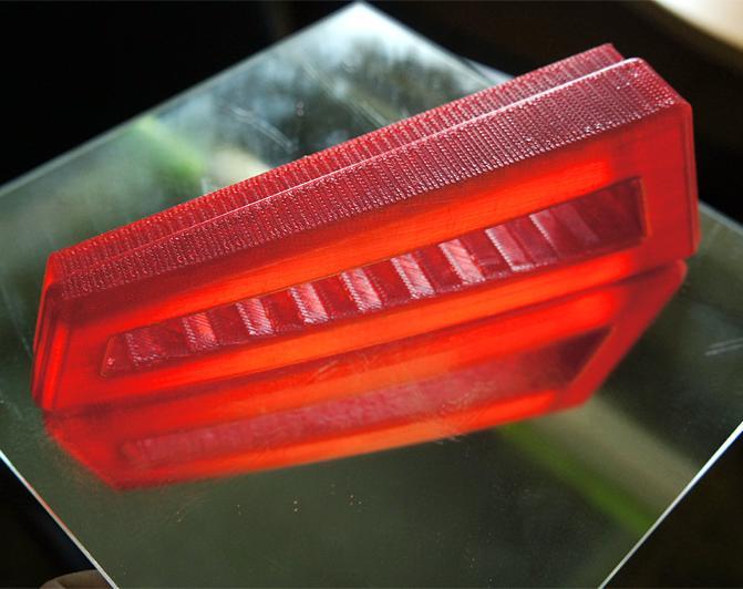 изделия из Filamentarno T-Soft рубиновый