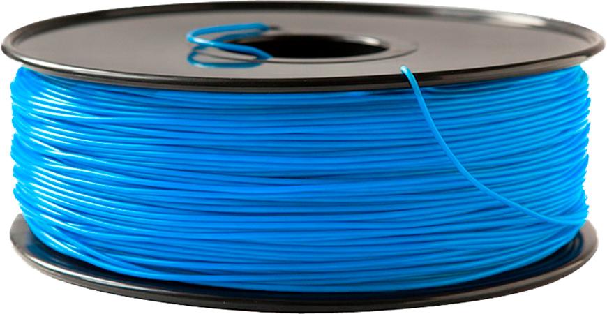 ABS пластик FL-33 1,75 синий флюоресцентный 1 кг