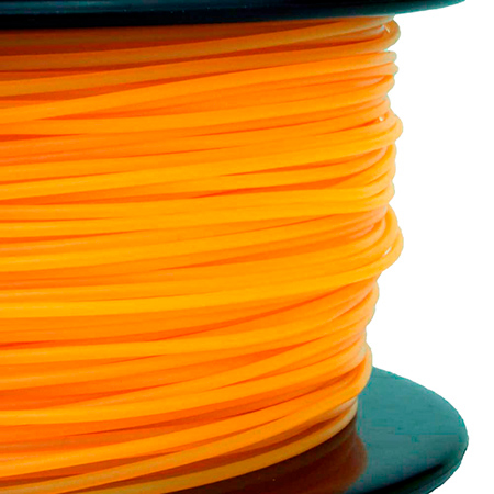 ABS пластик FL-33 1,75 оранжевый флюоресцентный 1 кг