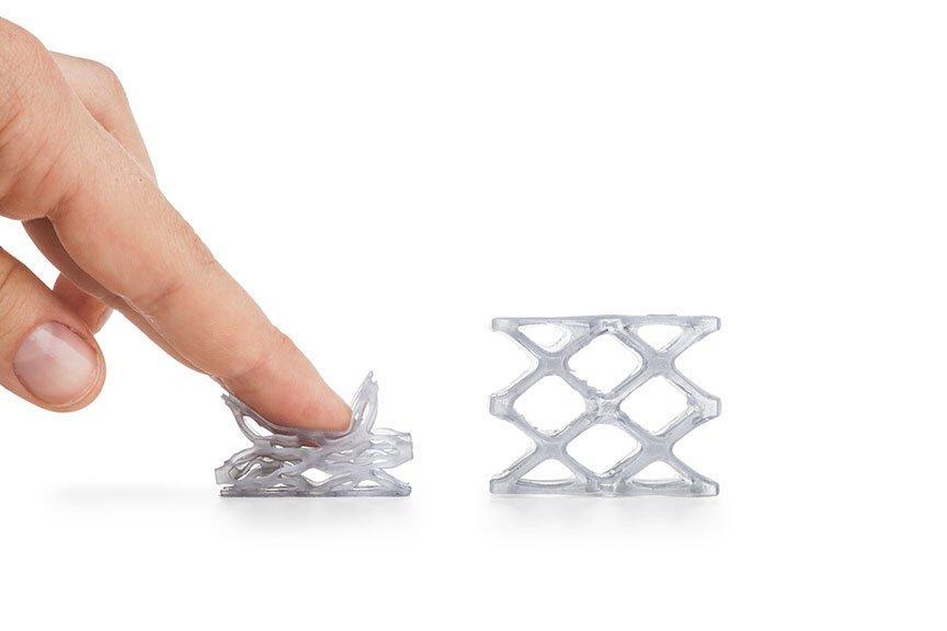 изделия из Formlabs Flexible v1 Resin