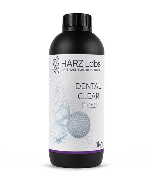 Фотополимер HARZ Labs Dental Clear SLA/Form-2 1 л