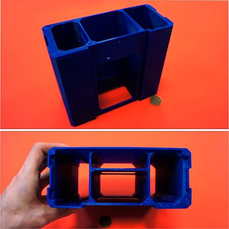 PLA пластик 2,85 REC синий 2 кг