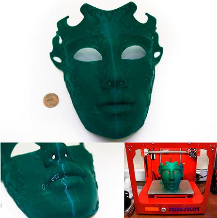 PLA пластик 2,85 REC зеленый 2 кг