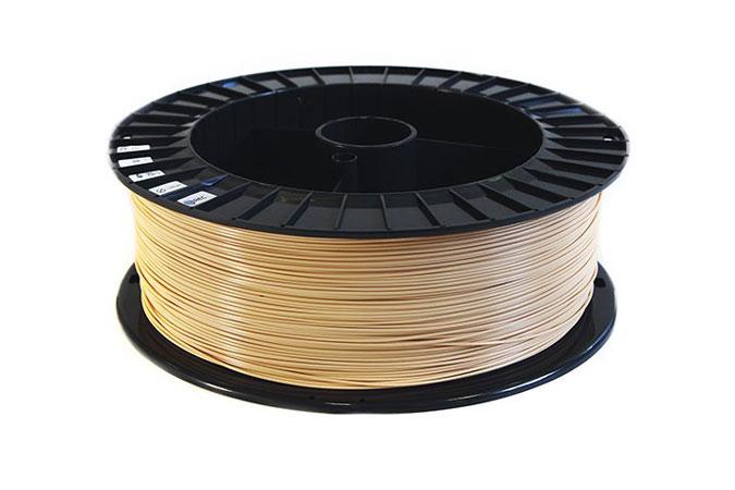 PLA пластик 1,75 REC бежевый 0,75 кг