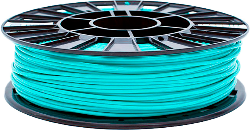 PLA пластик 2,85 REC бирюзовый 0,75 кг