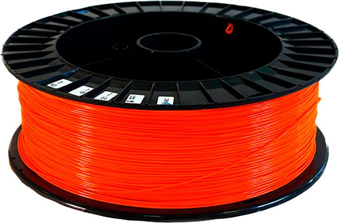 PLA пластик 2,85 REC оранжевый 2 кг
