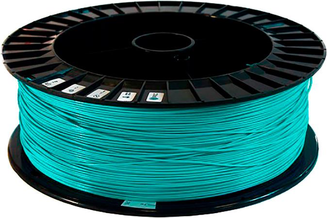 PLA пластик 2,85 REC бирюзовый 2 кг