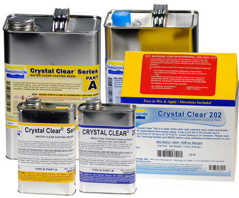 Smooth-On Crystal Clear 202