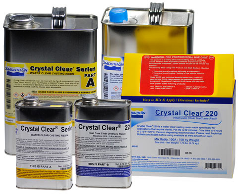 Smooth-On Crystal Clear 220