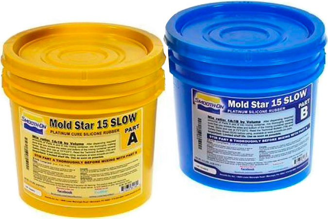Smooth-On Mold Star 15 Slow, 0,9 кг