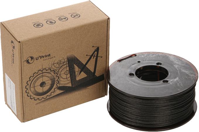 TPU CFF U3print 1,75 мм 0,45 кг Carbon