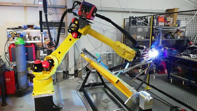 сварка при помощи робота