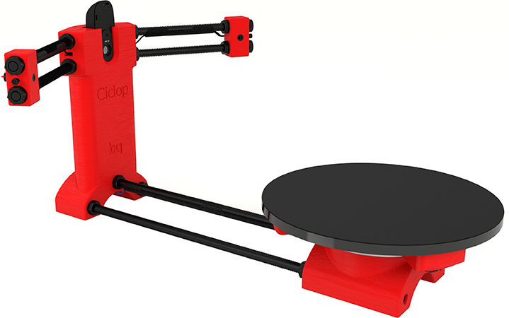 3D сканер BQ Ciclop